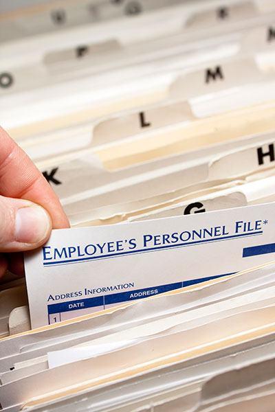 Employment Files
